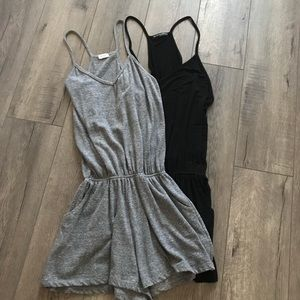 Brandy Melville John Galt Romper Lot of 2